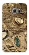 My Textured Stones B Galaxy S6 Case by Sonya Wilson
