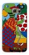 Old Folks Dancing Galaxy S6 Case by Rojax Art