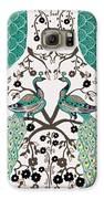 Peacock Love-2 Galaxy S6 Case by Karunita Kapoor
