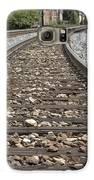 Railroad Tracks Galaxy S6 Case by Danielle Allard