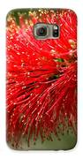 Red Burst Galaxy S6 Case by Valeria Donaldson