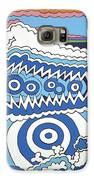 Rip Tide Galaxy S6 Case by Rojax Art
