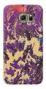 Rising Energy Abstract Painting Galaxy S6 Case by Julia Apostolova