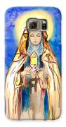 St. Clare Of Assisi Galaxy S6 Case by Myrna Migala