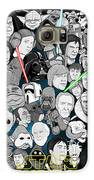 Star Wars Universe Collage Galaxy S6 Case by Gary Niles