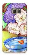 Still Life With Fish Galaxy S6 Case by Loretta Nash