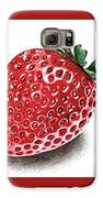 Strawberry Bite Galaxy S6 Case by Janet Moss