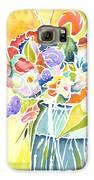 Summer Blooms Galaxy S6 Case by Carolyn Weir