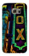 The Historic Fox Theatre Galaxy S6 Case by Kelly Rader