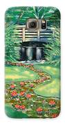Water Lilies Bridge Galaxy S6 Case