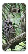 Whoooo Are You Galaxy S6 Case by April Wietrecki Green