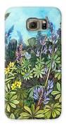 Wild Prairie Lupine Galaxy S6 Case
