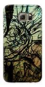 Window Drawing 01 Galaxy S6 Case by Grebo Gray