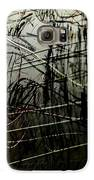 Window Drawing 02 Galaxy S6 Case by Grebo Gray