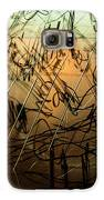 Window Drawing 09 Galaxy S6 Case by Grebo Gray