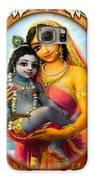 Yashoda And  Krishna 3 Galaxy S6 Case by Lila Shravani