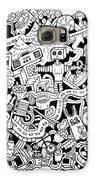 Z Squirrel Galaxy S6 Case by Chelsea Geldean