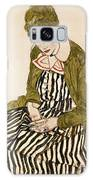 Edith With Striped Dress Sitting Galaxy S8 Case