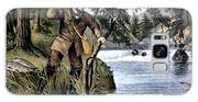 1870s Brook Trout Fishing - Currier & Galaxy S8 Case
