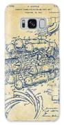 1946 Jet Aircraft Propulsion Patent Artwork - Vintage Galaxy Case