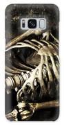 Skeleton  Galaxy Case by Amanda Elwell
