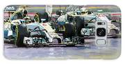 2014 F1 Mercedes Amg Petronas  Lewis Hamilton Vs Nico Rosberg Galaxy S8 Case