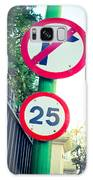 25 Mph Road Sign Galaxy S8 Case