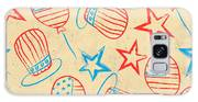 Seamless Pattern For 4th Of July Galaxy S8 Case