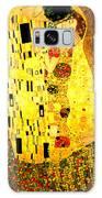 The Kiss Galaxy Case by Gustav Klimt
