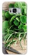 Kitchen Herbs Galaxy Case