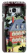 A Colonial Manor House Galaxy S8 Case