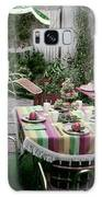 A Garden Set Up For Lunch Galaxy S8 Case