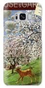 A House And Garden Cover Of A Calf Galaxy S8 Case