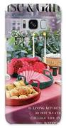 A House And Garden Cover Of Al Fresco Dining Galaxy S8 Case