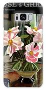 A House And Garden Cover Of Rhododendrons Galaxy S8 Case