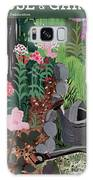 A Watering Can And A Shovel By A Flower Bed Galaxy S8 Case