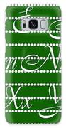 Abc 123 Green Galaxy S8 Case