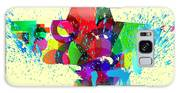 Abstract Vector Background Galaxy S8 Case