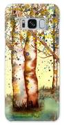 Birch Trees Galaxy S8 Case