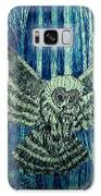Black Owl On Blue Night Galaxy S8 Case