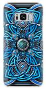 Blue And Silver Celtic Cross Galaxy S8 Case