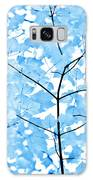 Blue Leaves Melody Galaxy S8 Case