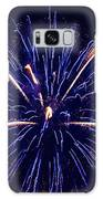 Blue Orange Fireworks Galveston Galaxy S8 Case