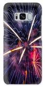 Blue Orange Red Fireworks Galveston Galaxy S8 Case