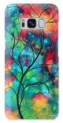 Bold Rich Colorful Landscape Painting Original Art Colored Inspiration By Madart Galaxy S8 Case