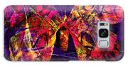 Butterfly In Abstract Dsc2977 Square Galaxy S8 Case