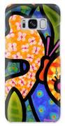 Butterfly Jungle Galaxy Case by Steven Scott