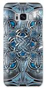 Celtic Hearts - Blue And Silver Galaxy S8 Case