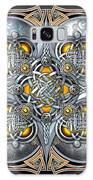 Celtic Hearts - Gold And Silver Galaxy S8 Case
