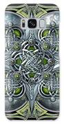 Celtic Hearts - Green And Silver Galaxy S8 Case